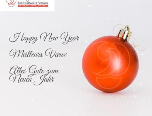 Berg & Moll vous souhaite une belle année 2021!